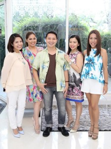 with Barkada ni Ate at The Makeover Lounge